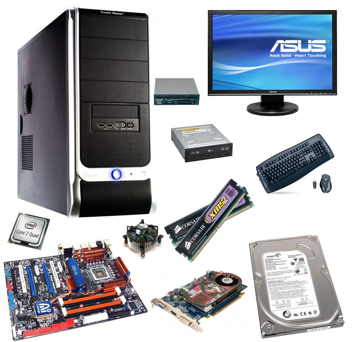 Компьютерное комплектующие в картинках