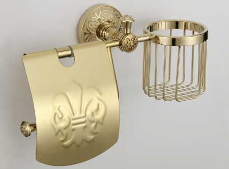 Держатель для туалетной бумаги и освежителя Savol S-L05851B золото: купить за 2218 руб - цена, характеристики, отзывы | интернет-магазин TOPSTO, Крым