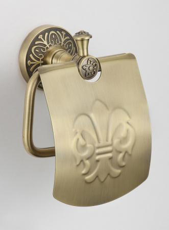 Держатель для туалетной бумаги с крышкой Savol S-005851C бронза: купить за 1529 руб - цена, характеристики, отзывы | интернет-магазин TOPSTO, Крым