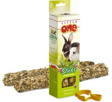 LITTLE ONE Палочки для морских свинок, кроликов и шиншилл с луговыми травами 2х55 г 32300 (56834) | интернет-магазин TOPSTO