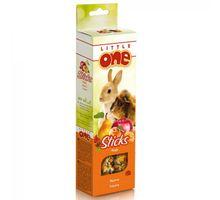 LITTLE ONE Палочки для морских свинок, кроликов и шиншилл с фруктами 2х60г 32280 (56832) | интернет-магазин TOPSTO