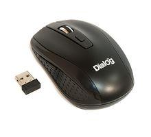 Мышь DIALOG MROP-01U черный, USB | интернет-магазин TOPSTO