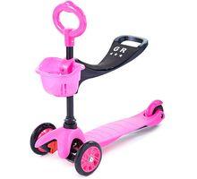 Самокат 3-х колесный Sweet Baby Triplex Seat Pink | интернет-магазин TOPSTO