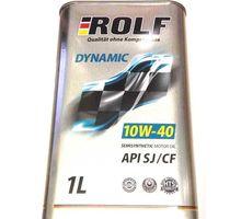 Масло ROLF Dynamic 10W-40 API SJ/CF 1 л   интернет-магазин TOPSTO