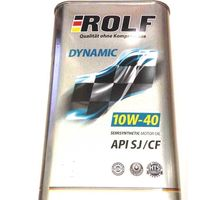 Масло ROLF Dynamic 10W-40 API SJ/CF 4 л   интернет-магазин TOPSTO