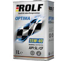 Масло ROLF Optima 15W-40 API SL/CF 1 л   интернет-магазин TOPSTO