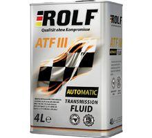 Масло ROLF ATF III 4 л   интернет-магазин TOPSTO