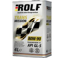 Масло ROLF Transmission SAE 80W-90 API GL-5 4 л   интернет-магазин TOPSTO