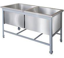 Ванна моечная двойная ITERMA ВС-20/600/1150 | интернет-магазин TOPSTO