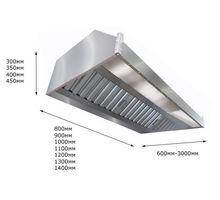 Зонт вытяжной пристенный ITERMA ЗВП-1600х1000х350 | интернет-магазин TOPSTO