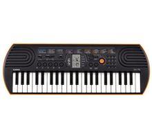 Синтезатор CASIO SA-76 44 клав. оранжевый | интернет-магазин TOPSTO