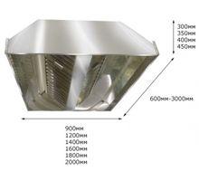 Зонт вытяжной центральный ITERMA ЗВЦ-1800Х1200Х350 | интернет-магазин TOPSTO