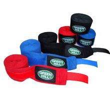 Бинт боксерский Green Hill BP-6232a 2,5м эластик синий | интернет-магазин TOPSTO