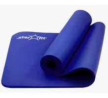 Коврик для йоги STARFIT FM-301 NBR 183x58x1,2см синий | интернет-магазин TOPSTO