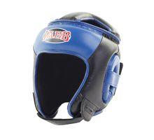 Шлем боксерский Jabb JE-2093 черный/синий S | интернет-магазин TOPSTO