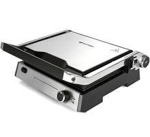 Электрогриль Kitfort KT-1602 серебристый/черный | интернет-магазин TOPSTO