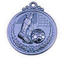 Медаль Start Up футбол 29 серебро 50мм 2009   интернет-магазин TOPSTO
