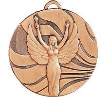 Медаль Ника MD2350/B 50мм G-2мм 3 место   интернет-магазин TOPSTO