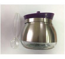 Сахарница LARA Violet с дозатором 300мл LR08-34   интернет-магазин TOPSTO