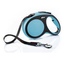 Рулетка-ремень Flexi Comfort L 5м 60кг синяя 28308 | интернет-магазин TOPSTO