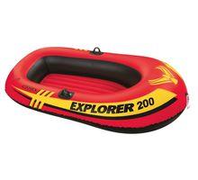 Лодка надувная INTEX 58330 двухместная EXPLORER 198х117см | интернет-магазин TOPSTO