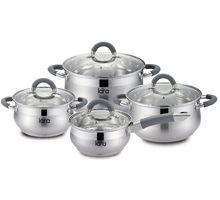 Набор посуды LARA LR02-93 Bell 8 пр | интернет-магазин TOPSTO