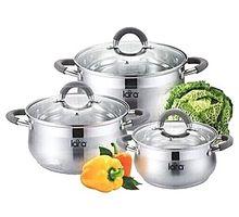 Набор посуды LARA LR02-92 Bell 6 пр | интернет-магазин TOPSTO