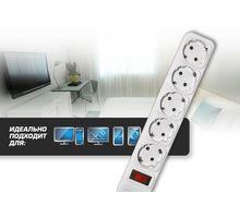 Сетевой фильтр CENTEK СТ-8900-5-1,8 White | интернет-магазин TOPSTO