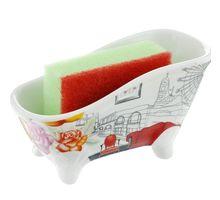 Набор 2пр подставка + губка для посуды BESKO 532154 Амалия | интернет-магазин TOPSTO