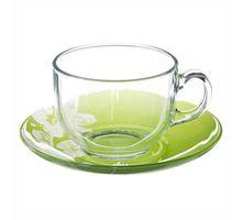 Чайный набор LUMINARC КОТОН ФЛАУЭР 220мл (G2276) | интернет-магазин TOPSTO