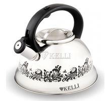 Чайник KELLI KL- 4309 3,0л с терморисунком | интернет-магазин TOPSTO