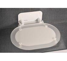 Сиденье RAVAK CHROME CLEAR/WHITE (B8F0000028) | интернет-магазин TOPSTO
