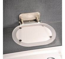 Сиденье RAVAK CHROME CLEAR/STAINLESS (B8F0000029) | интернет-магазин TOPSTO