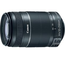 Объектив Canon EFS IS STM (8546B005) 55 - 250мм F/4.0-5.6 | интернет-магазин TOPSTO