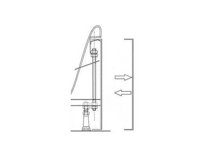 Крепеж панели RAVAK XXL B20900000N | интернет-магазин TOPSTO