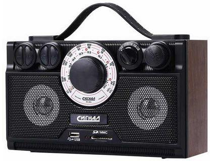 Радиоприемник БЗРП РП-304/СИГНАЛ РП-304 USB/SD | интернет-магазин TOPSTO