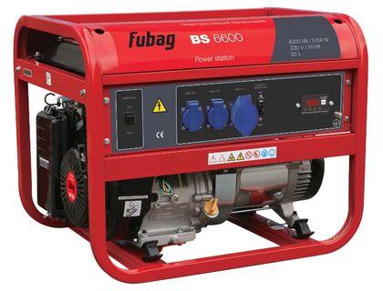 Генератор бензиновый Fubag BS6600 | интернет-магазин TOPSTO