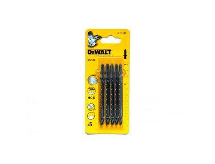 Пилки для лобзика DeWalt DT 2166 HCS,100/68/4мм,рез-60мм,быстр,прям пропил (T144 D) <5шт> | интернет-магазин TOPSTO