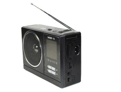 Радиоприемник ЭФИР 10 бат. 2xR20 (не в компл.) Радиоприемник USB SD micro-SD | интернет-магазин TOPSTO