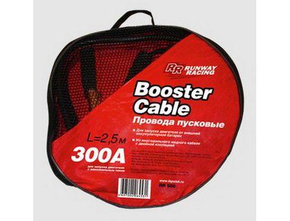 Провода пусковые RUNWAY RR300 в сумке 300А | интернет-магазин TOPSTO