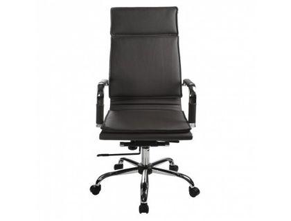 Кресло руководителя Бюрократ CH-993/black черный искусственная кожа крестовина хром | интернет-магазин TOPSTO