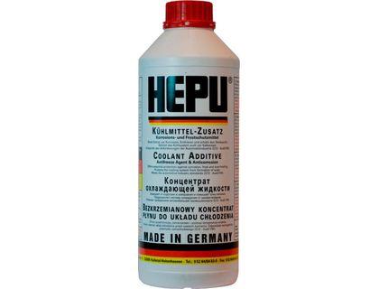 Антифриз концентрат HEPU красный 1,5 л   интернет-магазин TOPSTO