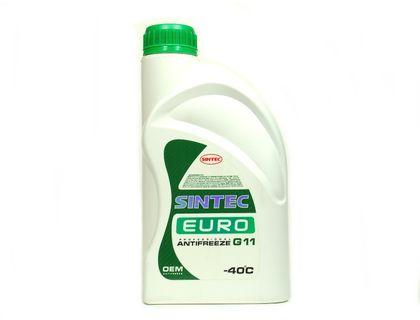 Антифриз Sintec Euro A-40 G11 зелёный 1 л | интернет-магазин TOPSTO