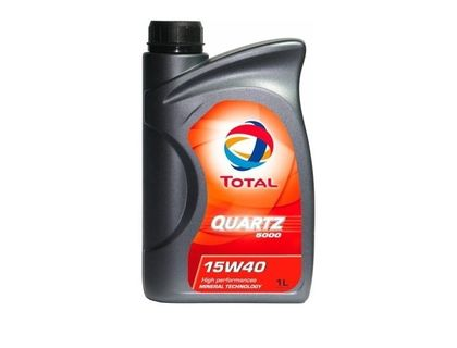 Масло TOTAL QUARTZ 5000 15W-40 SL/CF 1 л | интернет-магазин TOPSTO