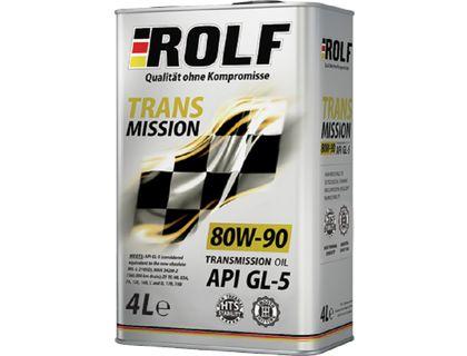Масло ROLF Transmission SAE 80W-90 API GL-5 4 л | интернет-магазин TOPSTO