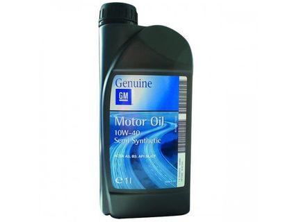 Оригинальное масло GM 10W-40 1л | интернет-магазин TOPSTO