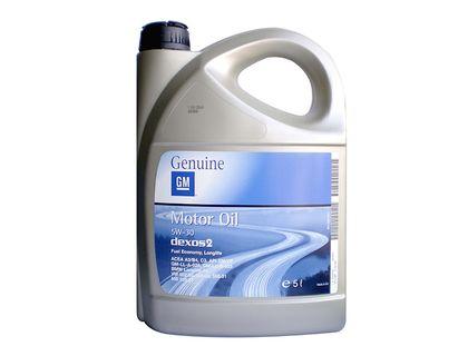 Оригинальное масло GM 5W30 5 л | интернет-магазин TOPSTO