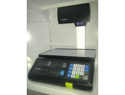 Весы электронные торговые CAS ER JR-6 CBU BLACK BODY | интернет-магазин TOPSTO