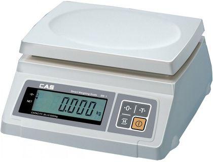 Весы электронные порционные CAS SW-20 (DD)   интернет-магазин TOPSTO