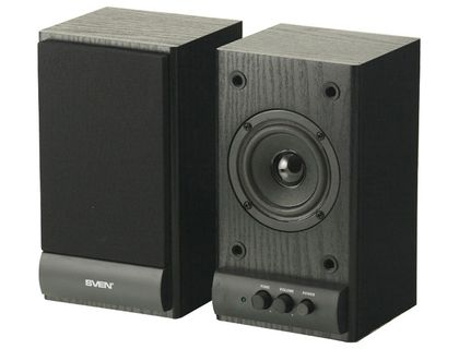 IT акустика SVEN SPS-607 BLACK   интернет-магазин TOPSTO